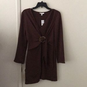 Dark Brown Dress (casual/business)